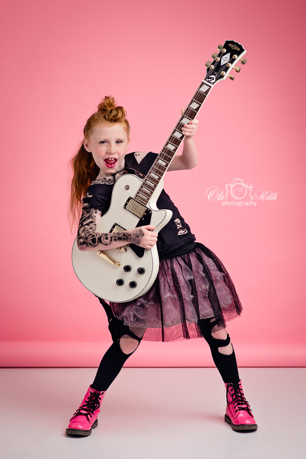 Rock star Photo shoot