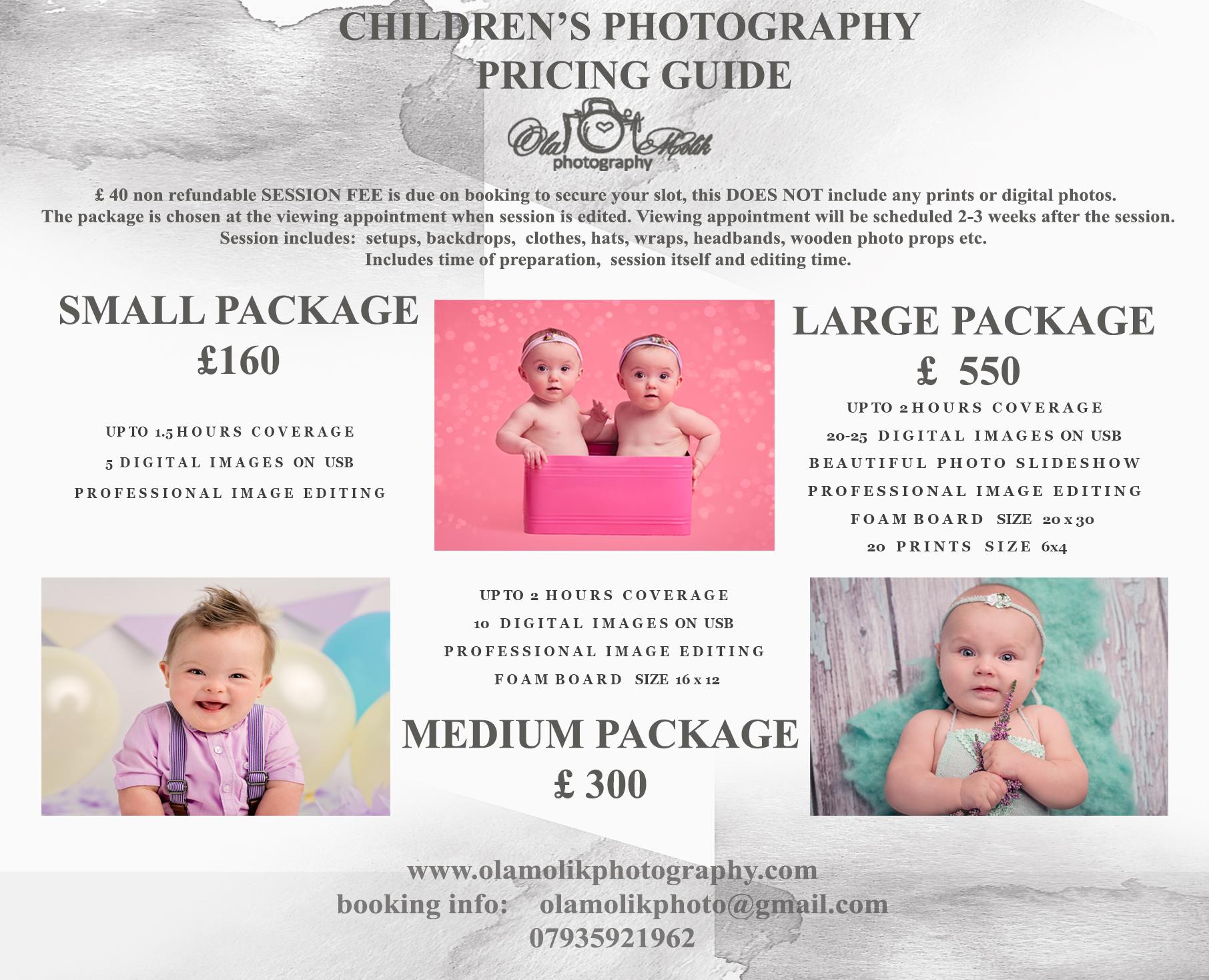 children's photography Ola Molik Photographer