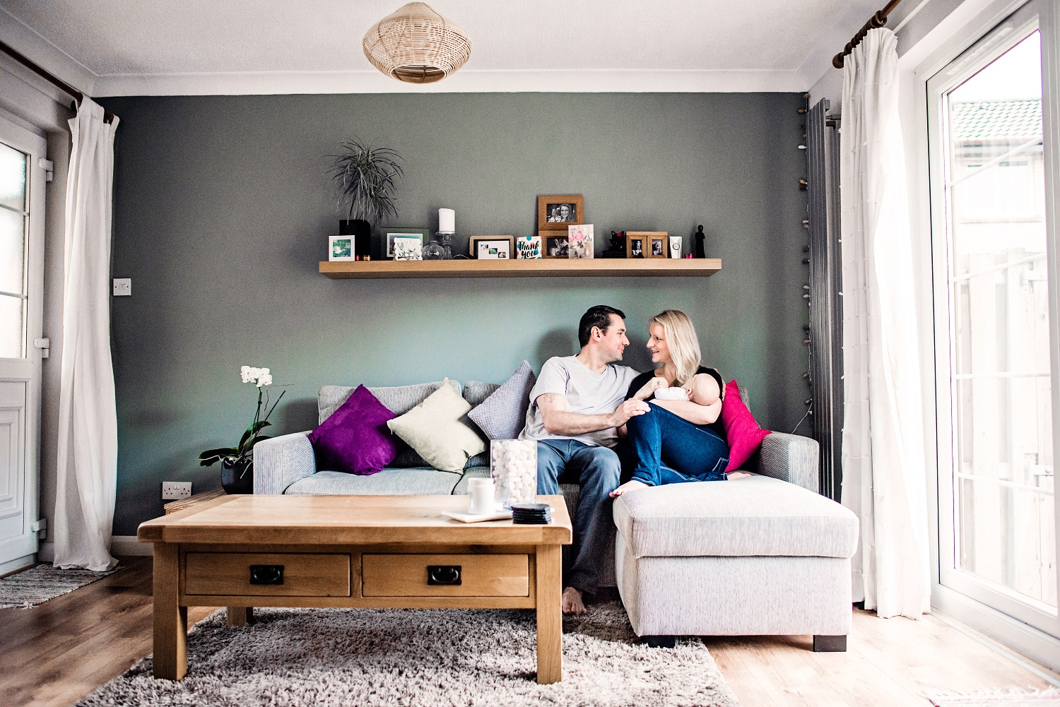 Lifestyle Family photo shoot - Glasgow- Ola Molik Photography